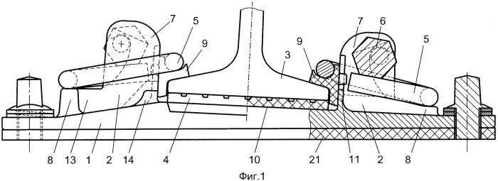 Безболтовое рельсовое скрепление и подрельсовая подкладка безболтового рельсового скрепления
