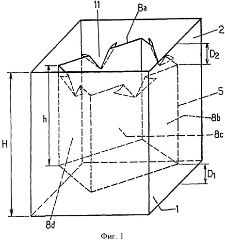 Гибкий контейнер для упаковки твердых сыпучих материалов и способ его использования
