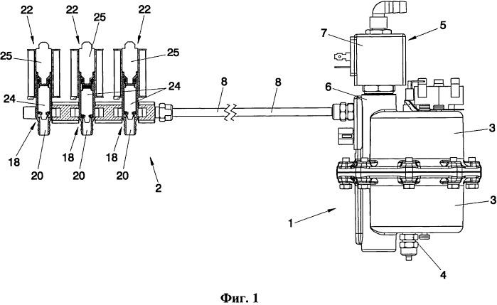 Система бойлер-дозатор для торгового автомата для приготовления горячих напитков