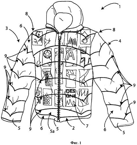 Способ производства предмета одежды