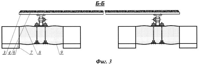 Амортизирующее устройство для снижения ударных нагрузок при швартовке судна к морской платформе (варианты)