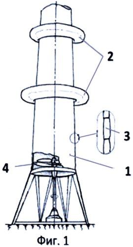 Противоураганное техническое устройство