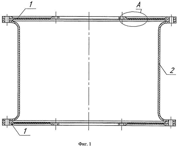 Сборная композитная виброизолирующая соединительная муфта