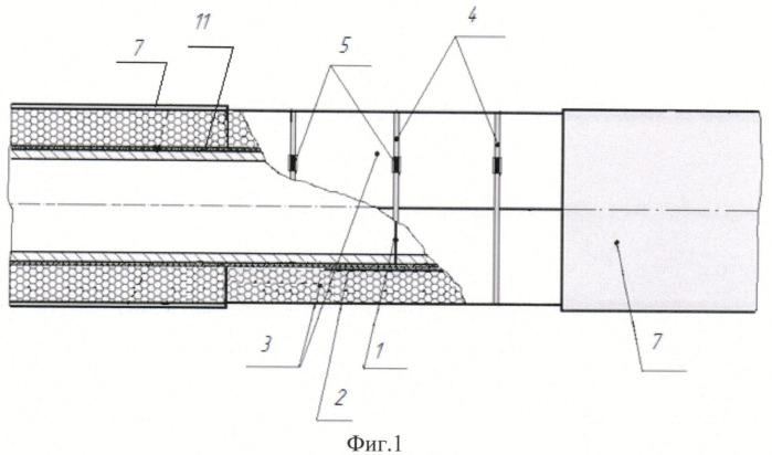 Способ монтажа теплоизоляции сварного стыка труб для подземной прокладки