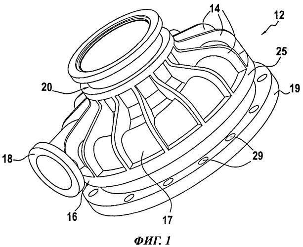Корпус турбомашины с усиленным уплотнением