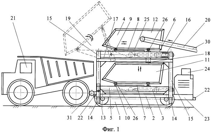 Способ загрузки горной массы в автосамосвалы и комплекс для осуществления погрузки