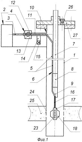Устройство для дозированной подачи химического реагента в скважину