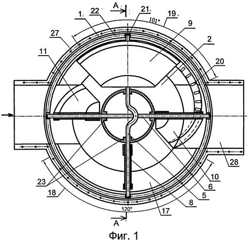 Роторное устройство