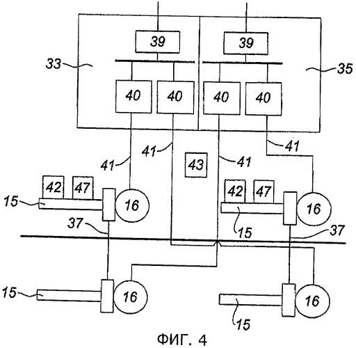 Система управления для гондолы турбореактивного двигателя и гондола, оснащенная такой системой