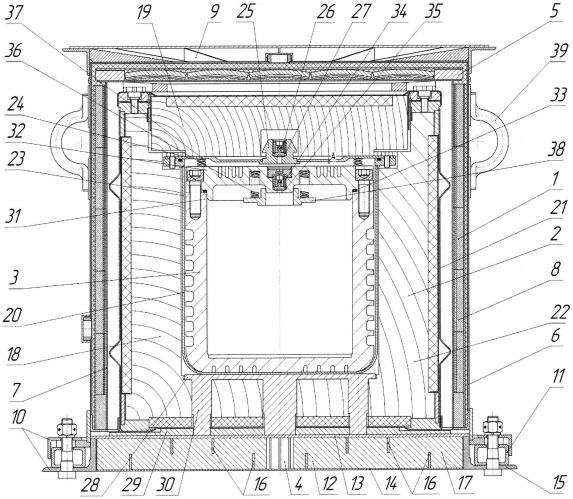 Упаковочный комплект для хранения и транспортировки изделия с радиоактивным веществом