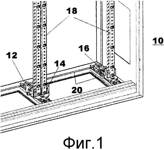 Электрический коммутационный и распределительный шкаф