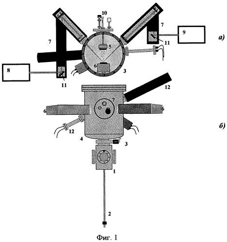 Система для получения нанопленок сплавов гейслера