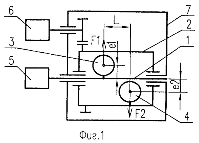 Способ управления воздействующей силой (варианты) и регулируемый вибратор для его осуществления