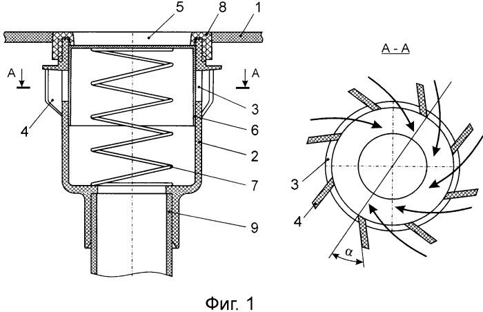 Клапан для площадок и трасс для перемещения платформы на воздушной подушке