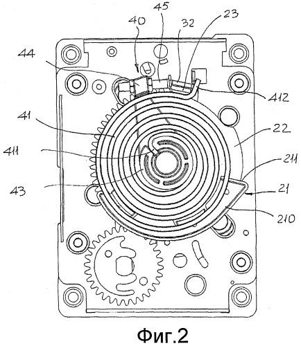 Приводной механизм для выключателя среднего напряжения