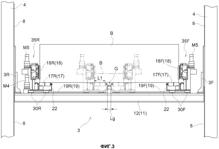 Устройство для перемещения изделия и кран-штабелер, содержащий указанное устройство