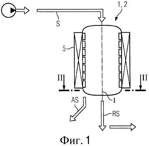Устройство сепарации намагничиваемых частиц из суспензии