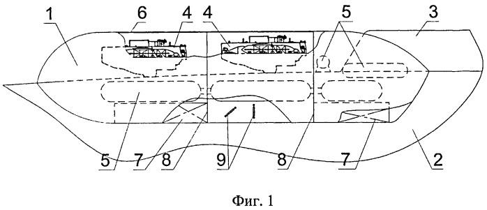 Съемная транспортно-спасательная наделка, сопрягаемая с ограждением выдвижных устройств подводного носителя