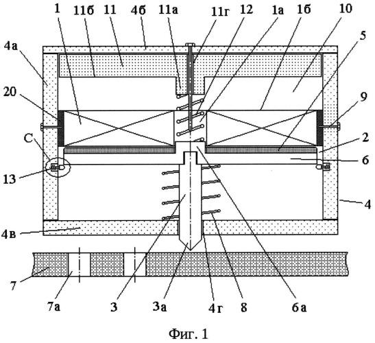 Линейный электромеханический преобразователь ударного действия