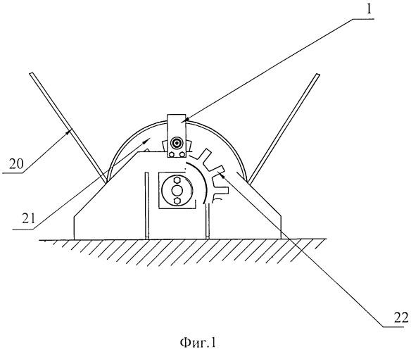Датчик глубины шарошечного станка для бурения взрывных скважин
