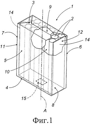 Ароматизированная сигаретная пачка и установка для изготовления такой пачки