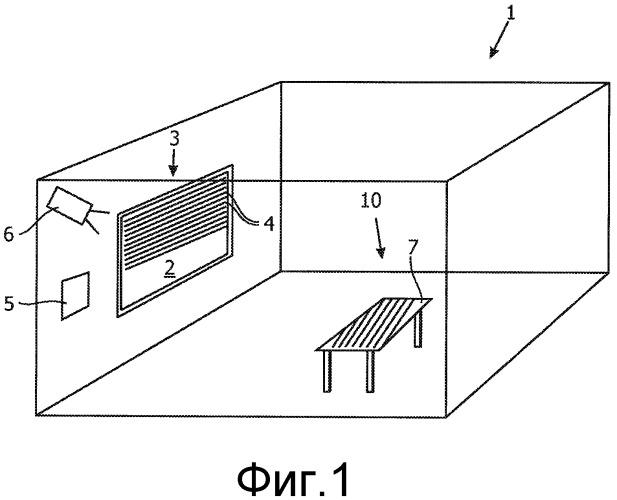 Управление затеняющим устройством посредством распознавания изображений