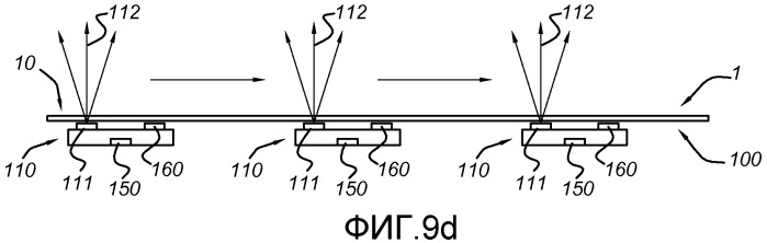 Ковровое изделие, содержащее оптический датчик