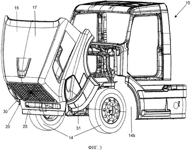 Улучшенный бампер транспортного средства
