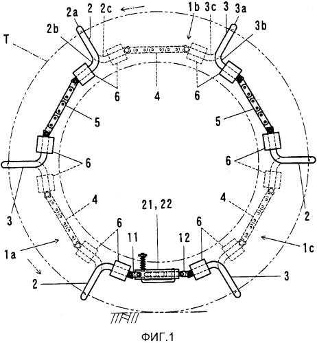 Противоскользящее устройство для шин