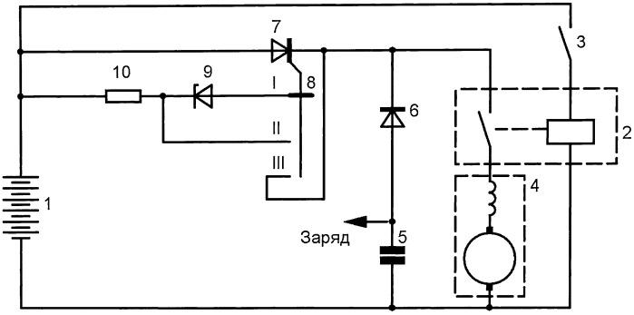 Комбинированная система пуска двигателя внутреннего сгорания