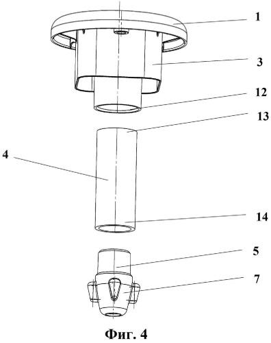 Пластиковый крепежный элемент плавучей платформы