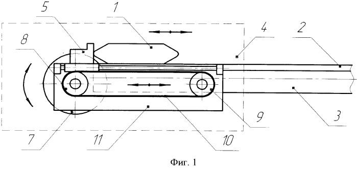 Механизм прокидки челнока ткацкого станка