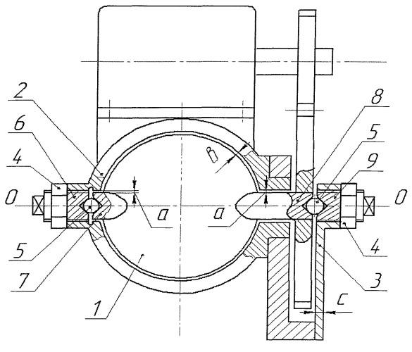 Клапанное устройство с заслонкой