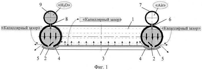 Способ капиллярного орошения из закрытого грунта плодовых деревьев и виноградника (вариант русской логики - версия 3)