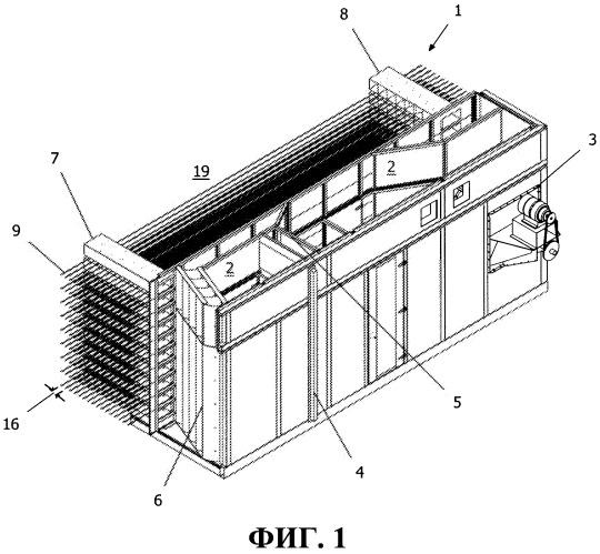 Система распределения потока воздуха