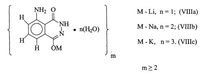 Способ получения о-люминолятов щелочных металлов