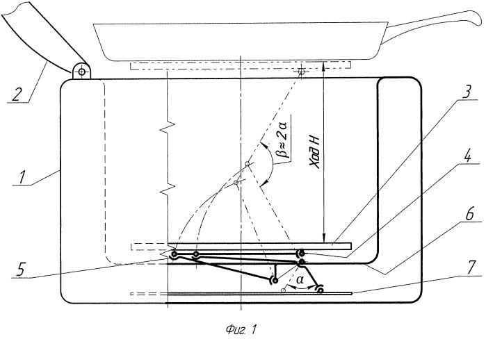 Мультиварка с подъемным нагревательным элементом