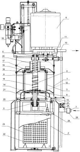 Электроцентрифуга для очистки картерного масла локомотивного двигателя