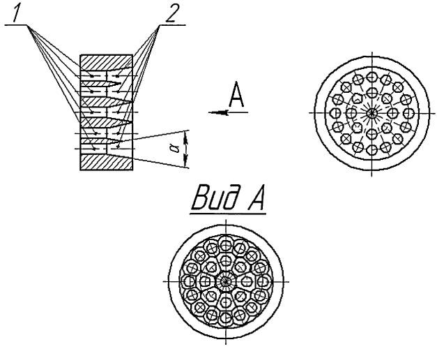 Формообразующая пластина фильеры