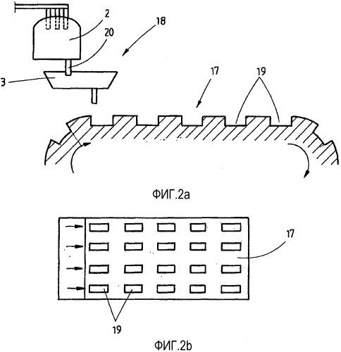 Способ отливки ленты из стали и установка для отливки ленты