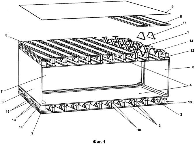 Кессон крыла из композиционного материала