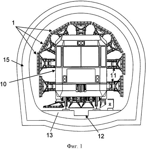 Устройство и способ очистки стеновых или половых поверхностей