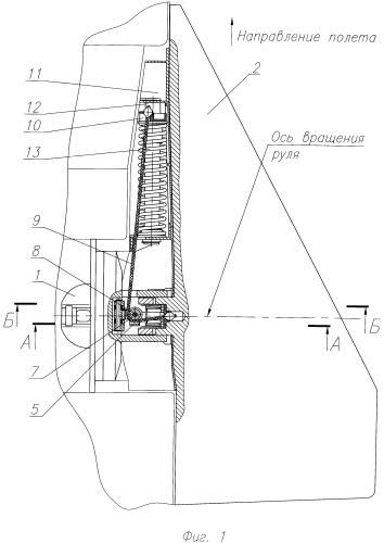 Раскрываемый руль ракеты