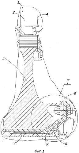 Ротор турбины высокого давления