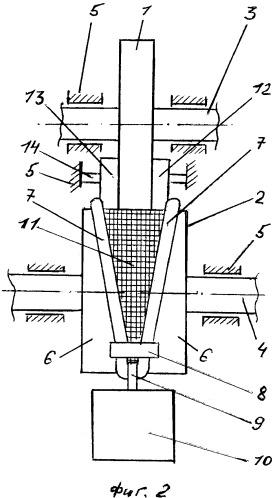 Модель зубчатой передачи