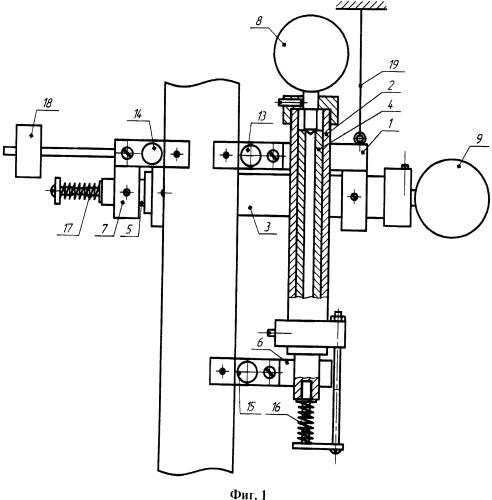 Тензометр для измерения продольной и поперечной деформации образца