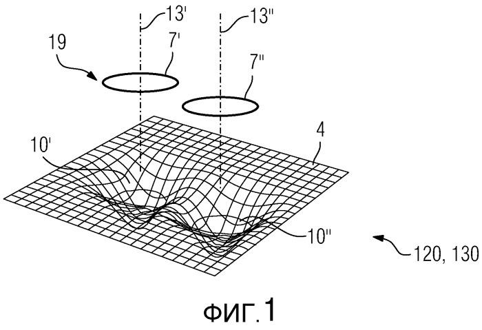 Анализ поверхности для обнаружения закрытых отверстий и устройство