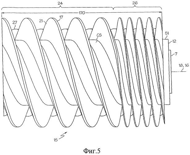 Осевой объемный компонент газотурбинного двигателя (варианты), осевой объемный компрессор газотурбинного двигателя и осевой объемный расширитель газотурбинного двигателя