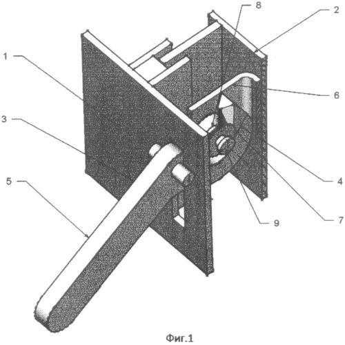 Способ стягивания дверцы к несущей раме и затворный механизм для осуществления способа
