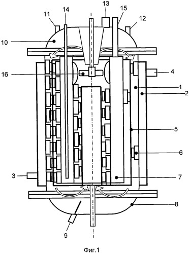 Реактор для проведения процесса полимеризации